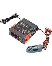 Controlador Digital de Humedad del Aire AC 220V 200mA SVWL-8040 Rango 1% -99% RH HM-40 Tipo de Sensor
