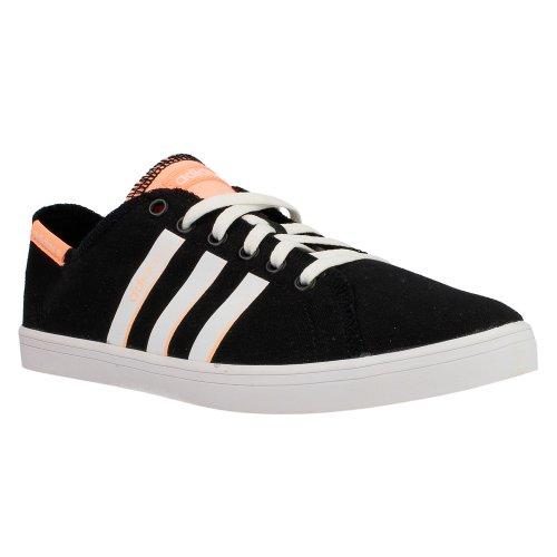 adidas F39147 Vlneo, Negro/Negro/Blanco, Color Negro, Talla 41.5
