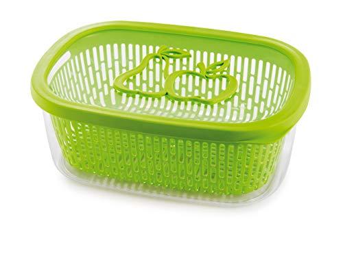 Snips 021480 Sinips Salva Aroma Frutta-Contenitore salvafreschezza da 4 lt-Verde