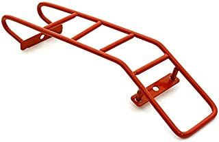 Integy RC Model Hop-ups C26606RED Realistic Metal Rear Ladders 118x28mm for 1/10 Scale Crawler Truck