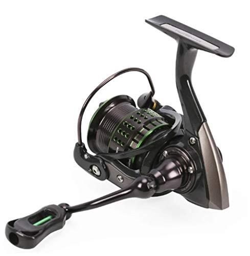 RongWang Carrete de Pesca Giratorio Ultraligero de 162g Kingfisher 800 1000 1500S 1500 Sistema de precisión de Cebo Profesional Rueda de Ajuste de Trucha (Size : 1000)