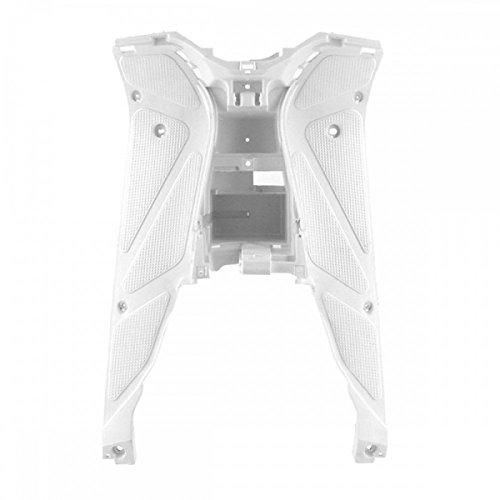 Trittbrett Fußraum Verkleidung weiß - Yamaha Aerox MBK Nitro 50 100