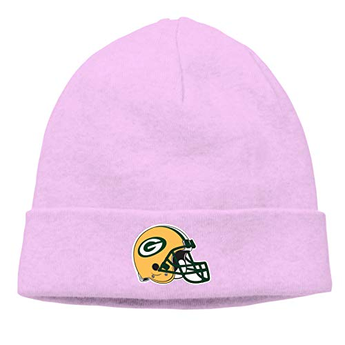 Fremont Die New-England-Patriots Daily Beanie Hat for Men Warm Winter Hats Thick Knit Cuff Beanie Cap Pink