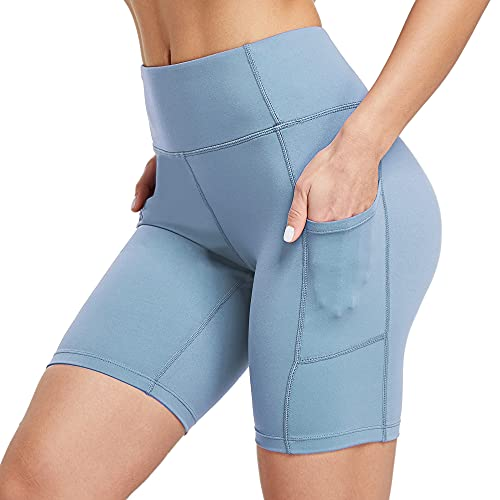 Ogeenier 8' Pantalones Cortos Deporte Mujer,...