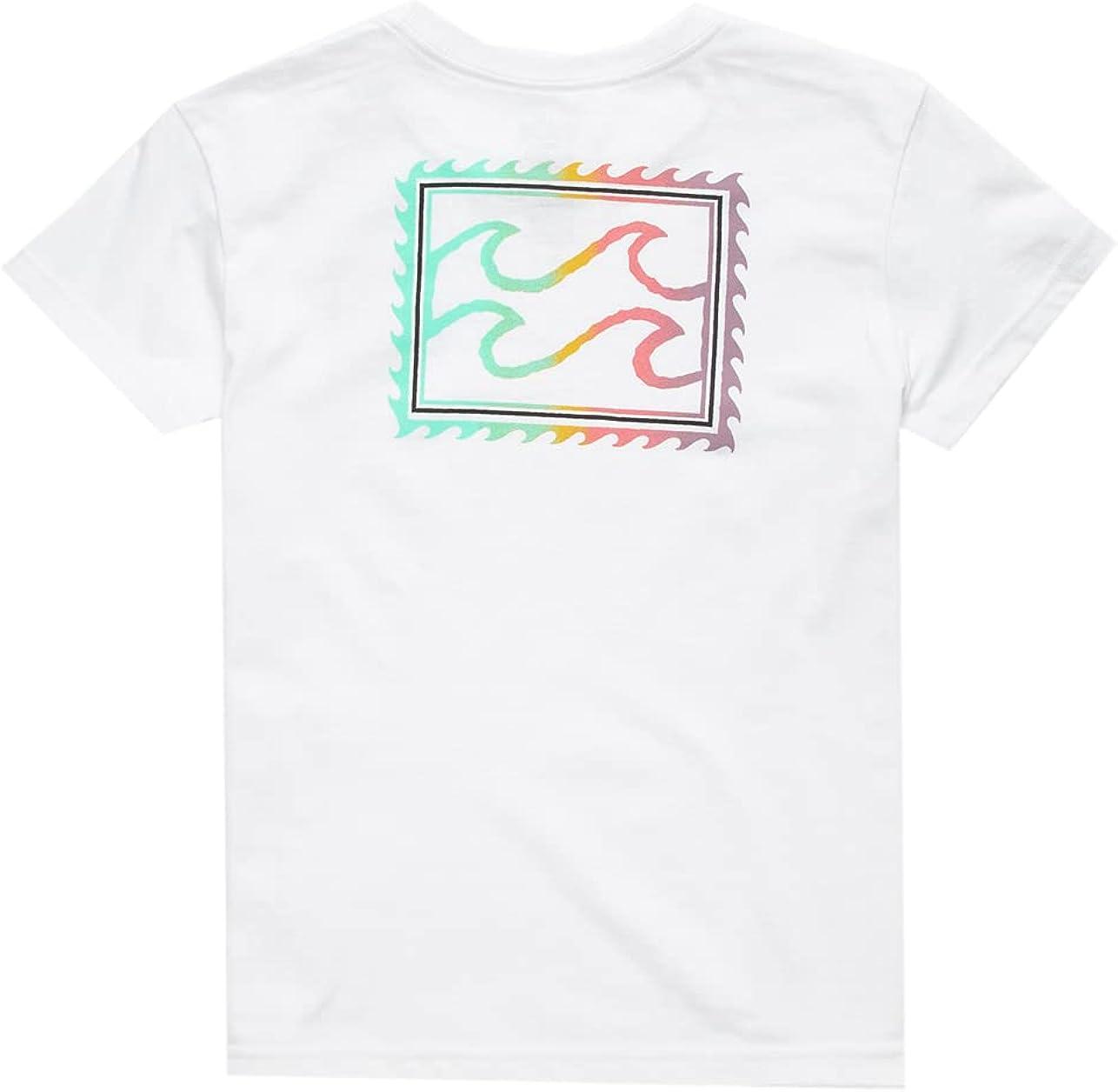 Billabong Crayon Wave Little Boys T-Shirt (4-7)