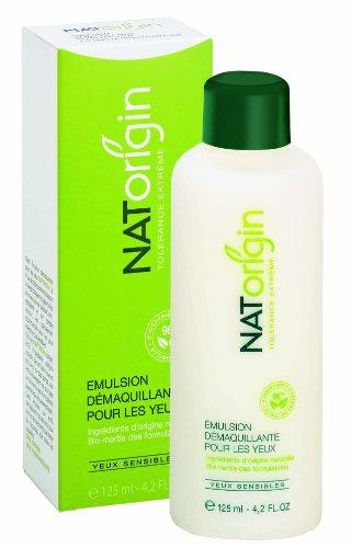 Maquillaje de ojos NATorigin removedor de emulsión de 125ml (base de leche - blanco)