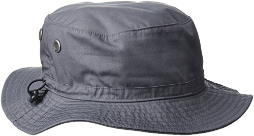 Beechfield Cargo Bucket Hat Bob, Gris (Graphite), Large Homme