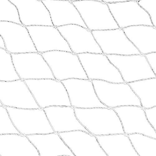 Katzenschutznetz, Balkon Schutznetz, Katzennetz, Sicherheitszaun, transparentes Balkonnetz mit Befestigungsseil Haken und Dübelstiften für Katzen Sicherung von Balkon, Terrasse, Fenster und Türen