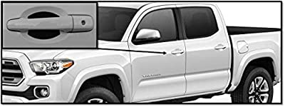 Door Handle Trim Magnetic Door Cup Paint Scratch Protector Cover Accessories for Toyota Tacoma (4 Pcs) Made in USA