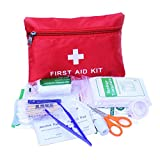 ESUPPORT 34 Piece First Aid Emergency Kit Car Home Medical Camping Office Travel