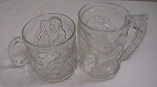 McDonald's Batman Forever (1995) Collectible Mugs - Set of 2--Batman & Riddler