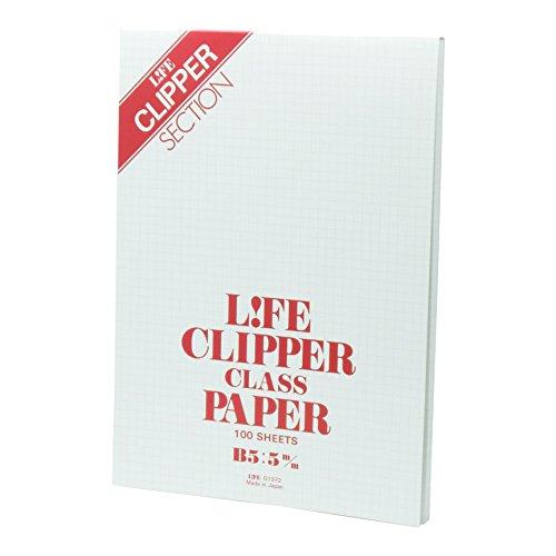 ライフ レポート用紙 クリッパー B5 G1372