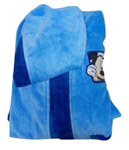 Mickey Mouse Disney badjas Bimbo spons, aqua-kleur, TG. 2/3 jaar.