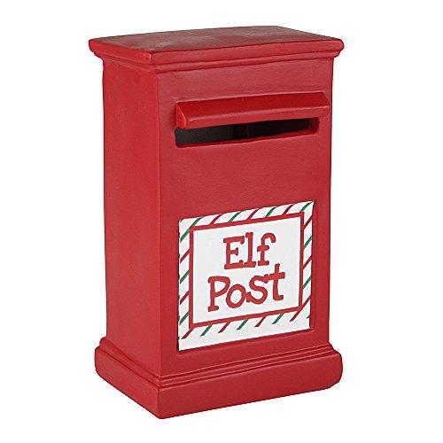 eBuyGB 1318505Elfi su scaffali 24Christmas Xmas Stocking Filler Toy (Post-Box e relazione Cards)
