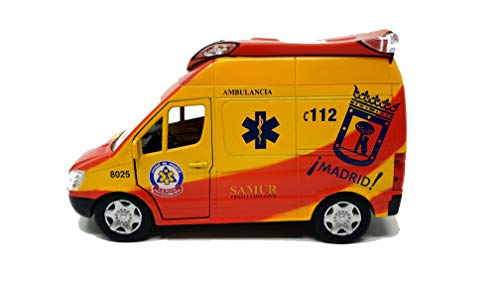 PLAYJOCS GT-8035 Ambulancia SAMUR