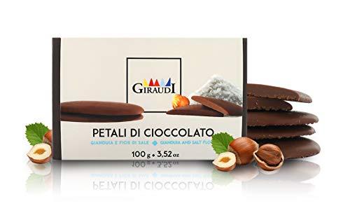 'Petali di Cioccolato', cioccolato gianduia con fior di sale, 100 grammi, linea Petali