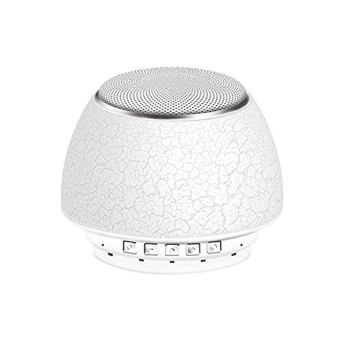 Sound Machine, L'émouchet Sleep Machine with 6 Nature Sounds, Fan Sounds, White Noise, 3 Timer Option or All-Night, Rechargeable Battery Noise Machine, Portable Sound Machine for Baby, Adult