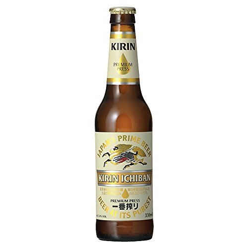 Kirin Ichiban cerveza Japón 4.8 ° 33 cl - 8 x 33 cl
