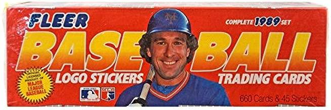1989 fleer baseball stickers