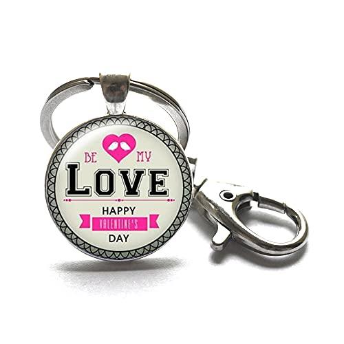 Llavero de amor, regalo de joyería, regalo de amor para ella, joyería ideal para damas de honor, joyería de novia, llavero de amor, regalos de San Valentín # 365