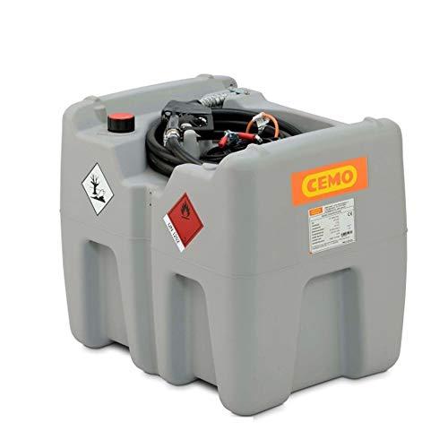 CEMO Tankanlage Tankstation Dieseltank mit 12V Pumpe Transporttank DT-Mobil Easy 210 Liter