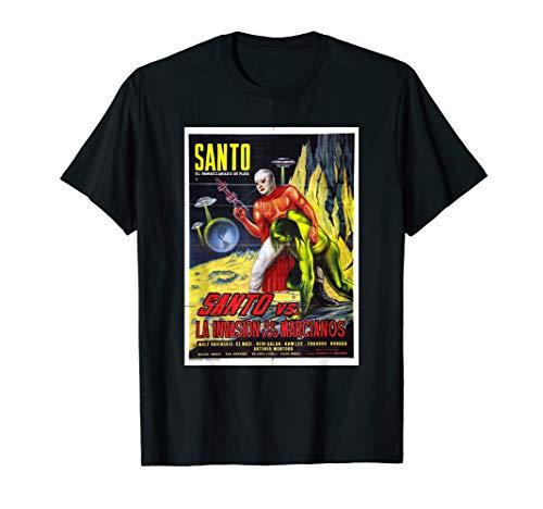 Santo El Enmascarado de Plata Retro Vintage TShirt