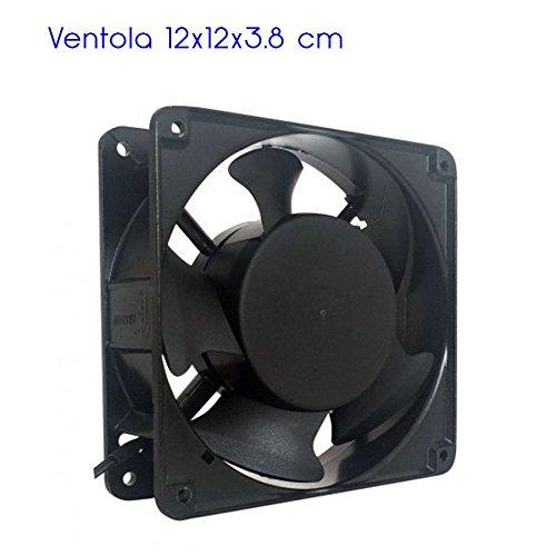 Generico Ventola di Raffreddamento assiale 120x120x38 mm 220V per Computer