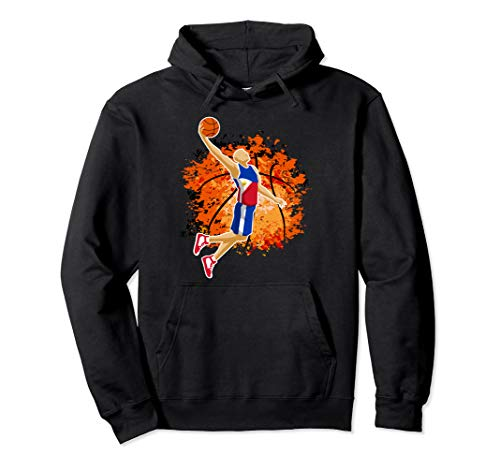 Philippines National Basketball Jersey Sport Slam Dunk Gift Pullover Hoodie