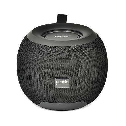 Pebble Dome Heavy Bass 5W Bluetooth Speaker (Black)