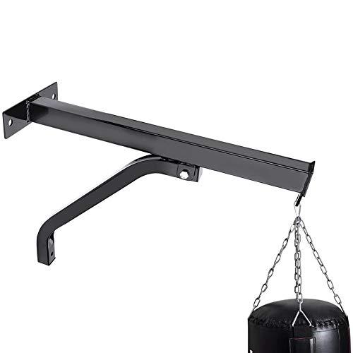 Cocoarm Wandhalter für Boxsack Boxsackhalterung Boxsack Halterung Wandhalterung Boxen Sandsack Aufhängungen Wand Aufhängen Ständer inkl. Befestigungsschrauben aus robustem Stahlrohr 100 Kg Tragkraft