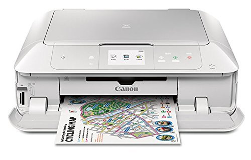 Canon MG7720 Wireless All-In-One Printer with Scanner and Copier: Mobile and Tablet Printing, with Airprint and Google Cloud Print compatible, White