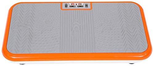Mediashop VibroShaper – Fitness Vibrationsplatte unterstützt bei Muskelaufbau und Fettverbrennung – Vibrationstrainer für alle Muskelgruppen – inklusive Fitnessbänder – orange mit Griff - 2