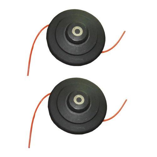 Trueshopping Testina ad Alta velocità in Filo di Nylon con Linea 5m per Decespugliatori (Testina Batti e Vai) - Pacco da 2