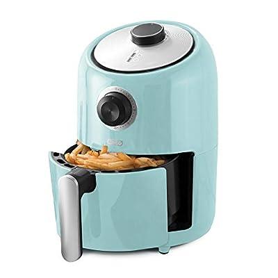 Dash (DCAF150GBAQ02) Compact Air Fryer, 2qt, Aqua by StoreBound
