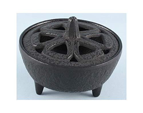 Cast Iron Lotus Shaped Incense Stick Holder