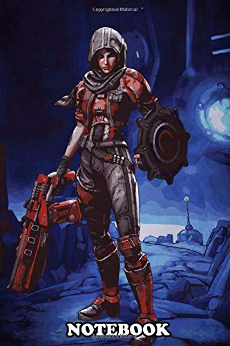 Notebook: Borderlands 4 , Journal for Writing, College Ruled Size 6' x 9', 110 Pages