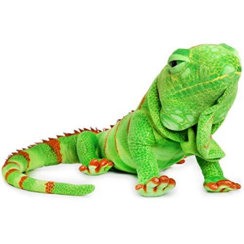 Ignacio The Iguana - Over 6 Foot Long (Including Tail Measurement) Big Stuffed Animal Plush Lizard - by Tiger Tale Toys