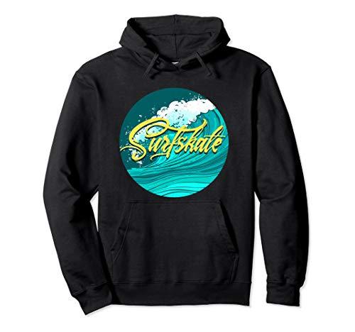 Surf Skate Kleidung für Surfskate mit Surf Skateboard Pullover Hoodie