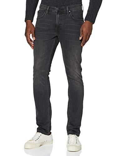 Lee Luke Jeans, Gris (Moto Grey Hga), 36W / 34L Homme