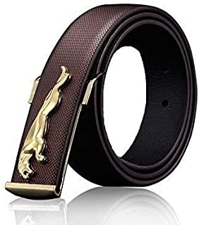 RRSTORE Men's Leather Belt (Brown_ Free Size)