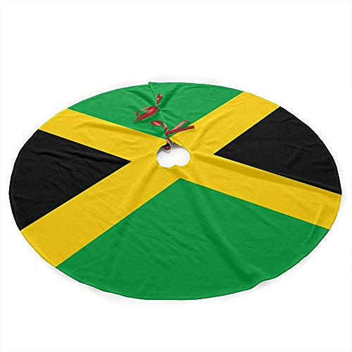 Winter-south vlag Jamaica kerstboom rok mat decoratie kerstfeest