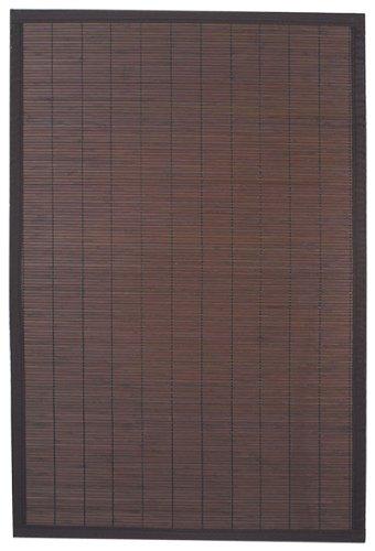 Ridder Beach 7951338 Tapis de bois 100 % bambou Marron foncé 60 x 90 cm