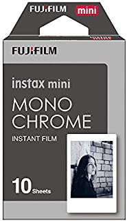 Fujifilm Instax Mini Instant Film, Monochrom, Einzelpackung