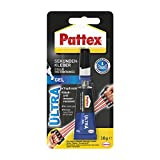 Pattex Sekundenkleber Ultra Gel, extra starker & flexibler Superkleber, stoß- & wasserresistentes Sekundenkleber Gel für z. B. Gummi, Leder, Holz, 1 x 10g
