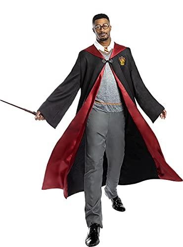 Funidelia | Disfraz de Harry Potter Oficial para Hombre y Mujer Talla XL ▶ Películas & Series, Magos, Gryffindor, Hogwarts - Color: Negro - Licencia: 100% Oficial