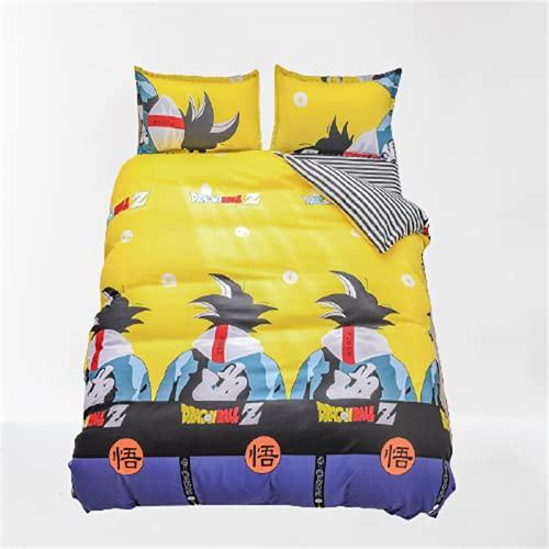 Ropa De Cama para Niños Textiles para El Hogar Funda Nórdica Estampada Funda De Almohada Juego De 4 Piezas Cómodo Y Transpirable 150x200cm