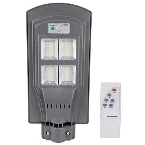 JJ. Accesorio Lámpara Solar Luz 110 W Energía Solar Radar Sensor de Movimiento Luz de Calle Iluminación Exterior para Garaje Patio Jardín