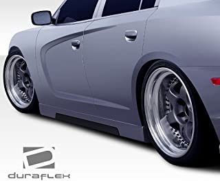 Brightt Duraflex ED-LPI-293 Circuit Side Skirts Rocker Panels - 2 Piece Body Kit - Compatible With Charger 2011-2018
