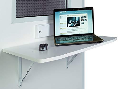 GIMA 33651 Tavolino per Cabine Audiometriche, 79 x 50 cm