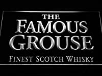 The Famous Grouse Whisky LED看板 ネオンサイン ライト 電飾 広告用標識 W40cm x H30cm ホワイト